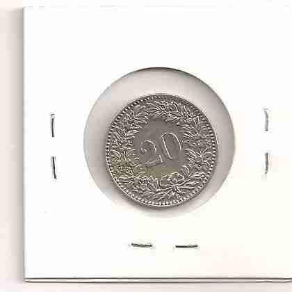 ml-0826 - moeda da suiça - $20 - 1912