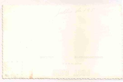 ml-0903 cartão foto postal antigo - bahia - 1951