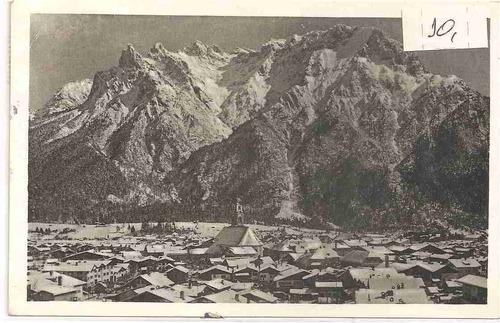 ml-0907 cartão postal antigo - alemanha