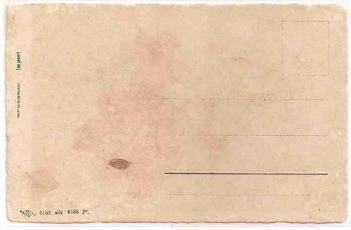 ml-1034 cartão postal antigo - alemanha - flores