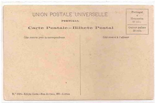 ml-1042 cartão postal antigo - belém, portugal