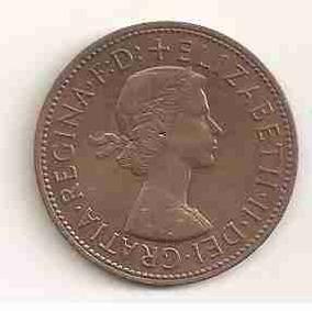 Ml-2562 Moeda Inglaterra (one Penny) 30mm 1967