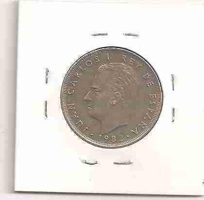 ml-3044 moeda espanha (25 ptas.) 26mm 1982