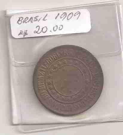 ml-3224 moeda brasil (40 réis) 1909