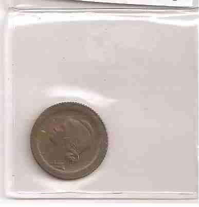 ml-3296 moeda portugal (5 centavos) 17mm bronze 1927