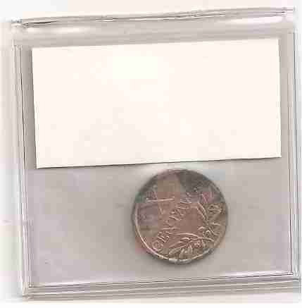ml-3314 moeda portugal (x centavos) 17mm bronze 1942