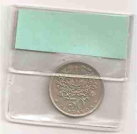 ml-3342 moeda portugal (50 centavos) 21mm 1947