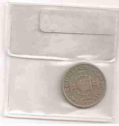 ml-3343 moeda moçambique (2$50) 19mm 1954