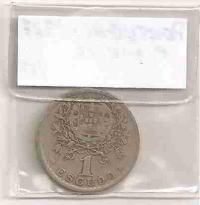 ml-3361 moeda portugal (1 escudo) 25mm c.níquel 1927