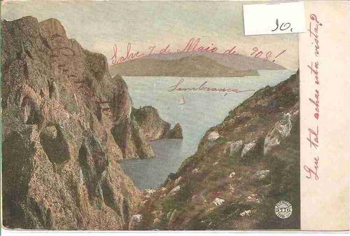 ml-4416 cartão postal antigo - itália - 1908