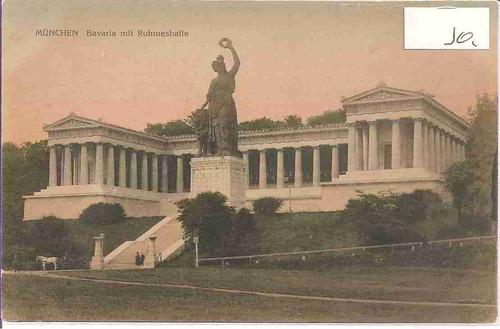 ml-4419 cartão postal antigo - alemanha