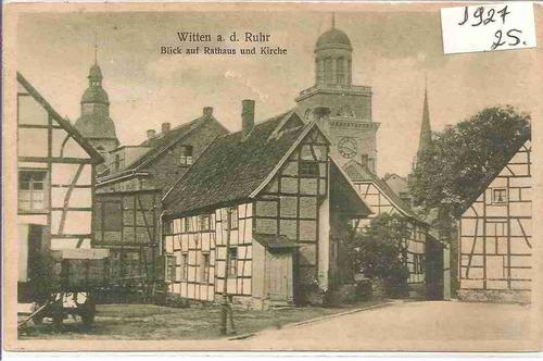 ml-4422 cartão postal antigo - alemanha - 1927
