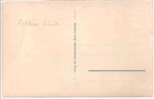 ml-4434 cartão postal antigo - limburg - holanda