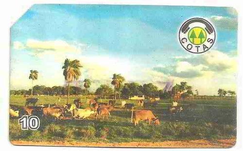 ml-4507 bolívia cotas 07/98 ecologia hacienda ganadera a-06