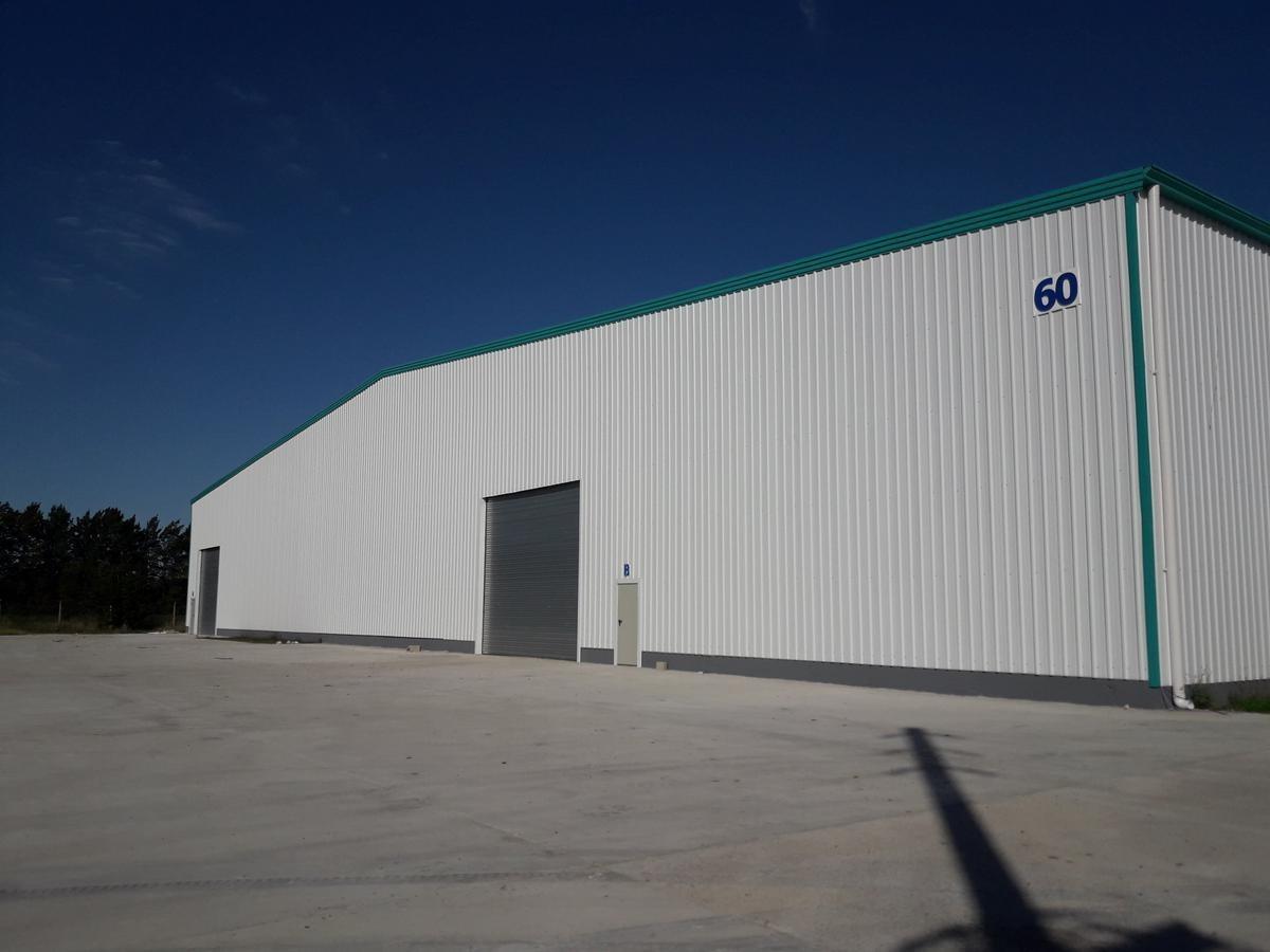 ml alquiler modulo 412m2 nave en parque industrial canning