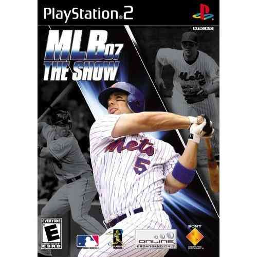 mlb '07 the show  ps2 hw7