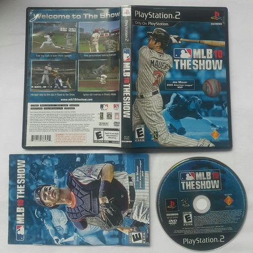 mlb 10 baseball - the show - fisico / platstation 2 ps2