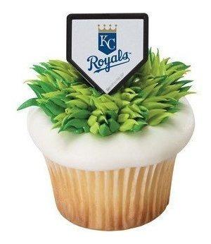 mlb cupcake topper rings kansas city royals por decopac