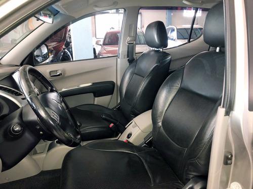 mmc l200 3.5 triton hpe flex cd 4x4 aut. 2012 prata -dasauto