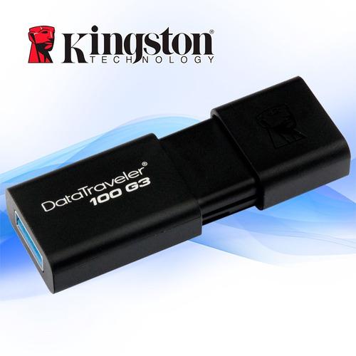 mmemoria flash kingston 64 gb usb 3.0 (dt100g3/64gb)original