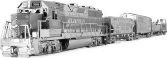mmg104 tren carga locomotora modelo 3d metal fascinations