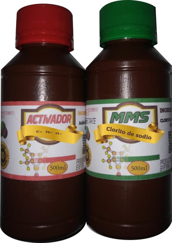 mms 500ml  dióxido de cloro, clorito de sodio / original :-)
