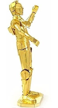 mms270 c-3po star wars rompecabezas metálico 3d fascinations