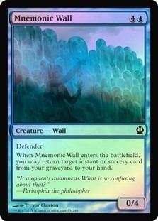 mnemonic wall theros (foil)
