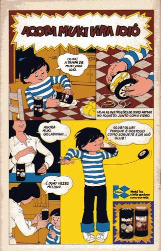 mônica nº46 - ed. abril original de fevereiro/1974 perfeita