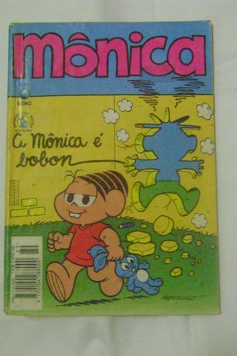 mônica nº89 maio 1994 editora globo bom!leia!