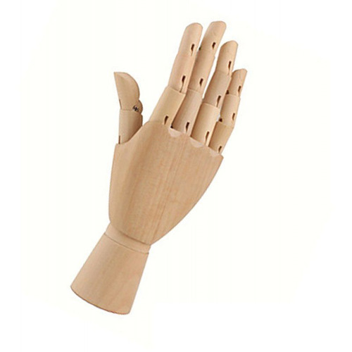 mão articulada para desenho 30cm direita