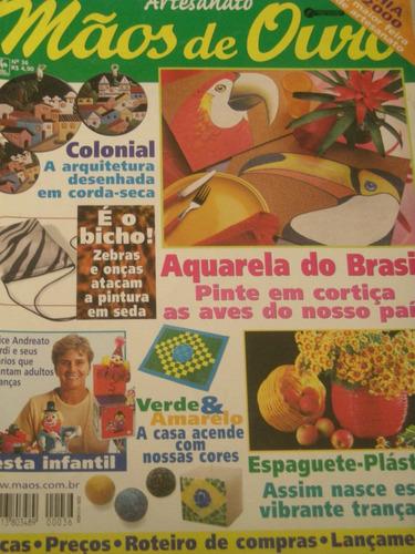 mão de ouro n 36-aquarela do brasil-2000