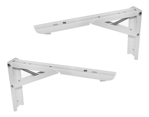 mão francesa reforçada mesas 24cm 100kg articulada par