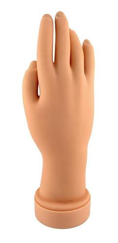 mão treino manicure profissional natural porcelana fibra!!