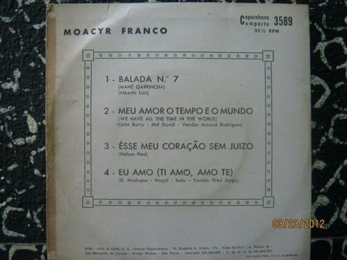 moacyr franco compacto balada n 7 1971