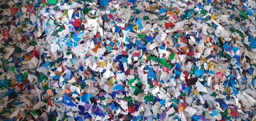 moagem de resinas plásticas.