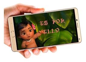 Moana Bebe Vídeo Tarjeta Invitación Digital Cumpleaños
