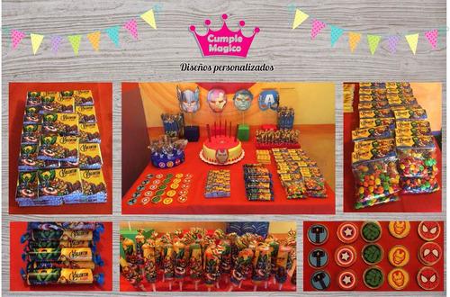moana golosinas personalizadas etiquetas candy bar x100