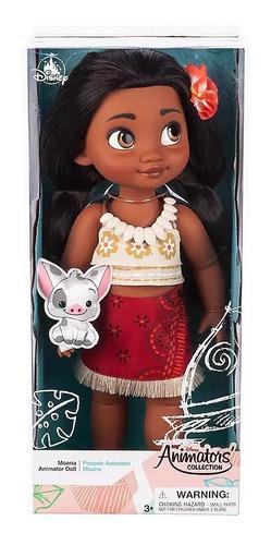 moana, muñeca princesa moana original disney animators