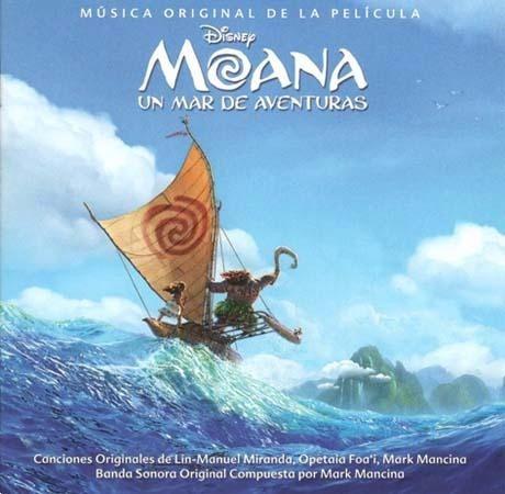 moana, un mar de aventuras de soundtrack