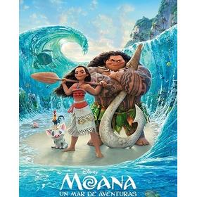 Moana: Un Mar De Aventuras Hd 1080p