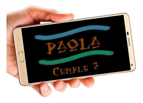 moana vídeo tarjeta invitación digital cumpleaños whapsapp