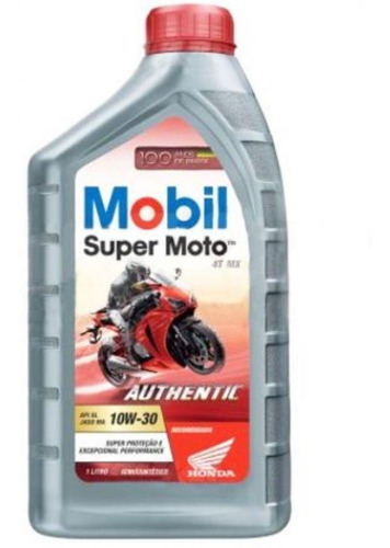 mobil super moto 4t mx 10w30 authentic
