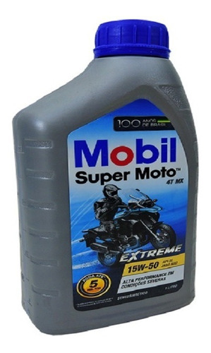 mobil super moto 4t mx 15w50