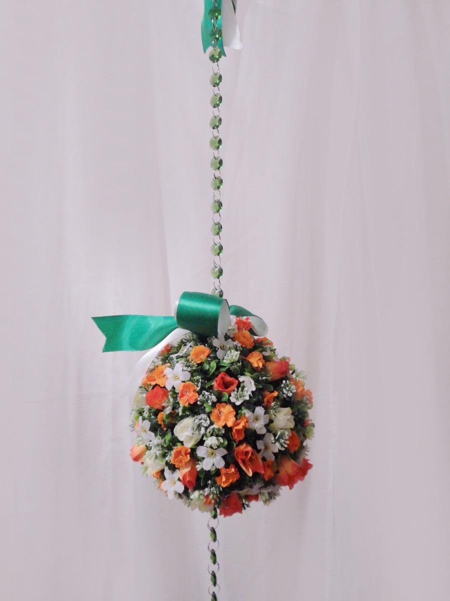 Enfeite De Cortina ~ Móbile Floral Topiaria Enfeite Para Porta, Cortina E Teto R$ 80,00 em Mercado Livre