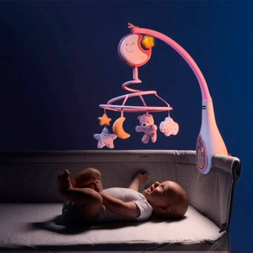 móbile musical next2dreams rosa (0m+) - chicco