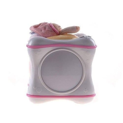 mobile para berço rainbow cube bebê rosa - chicco