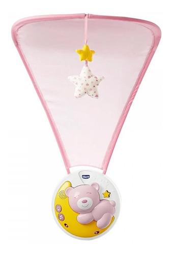 móbile projetor musical next2moon 3 em 1 rosa (0m+) - chicco