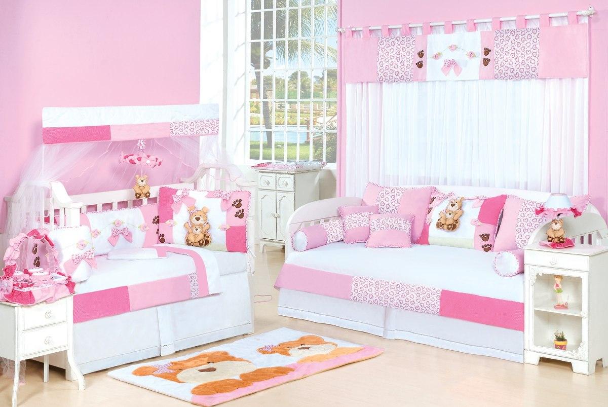 Móbile Rosa Para Quarto De Bebe Menina Coleção Mamãe Ursa Hb  R$ 54,99 em Me