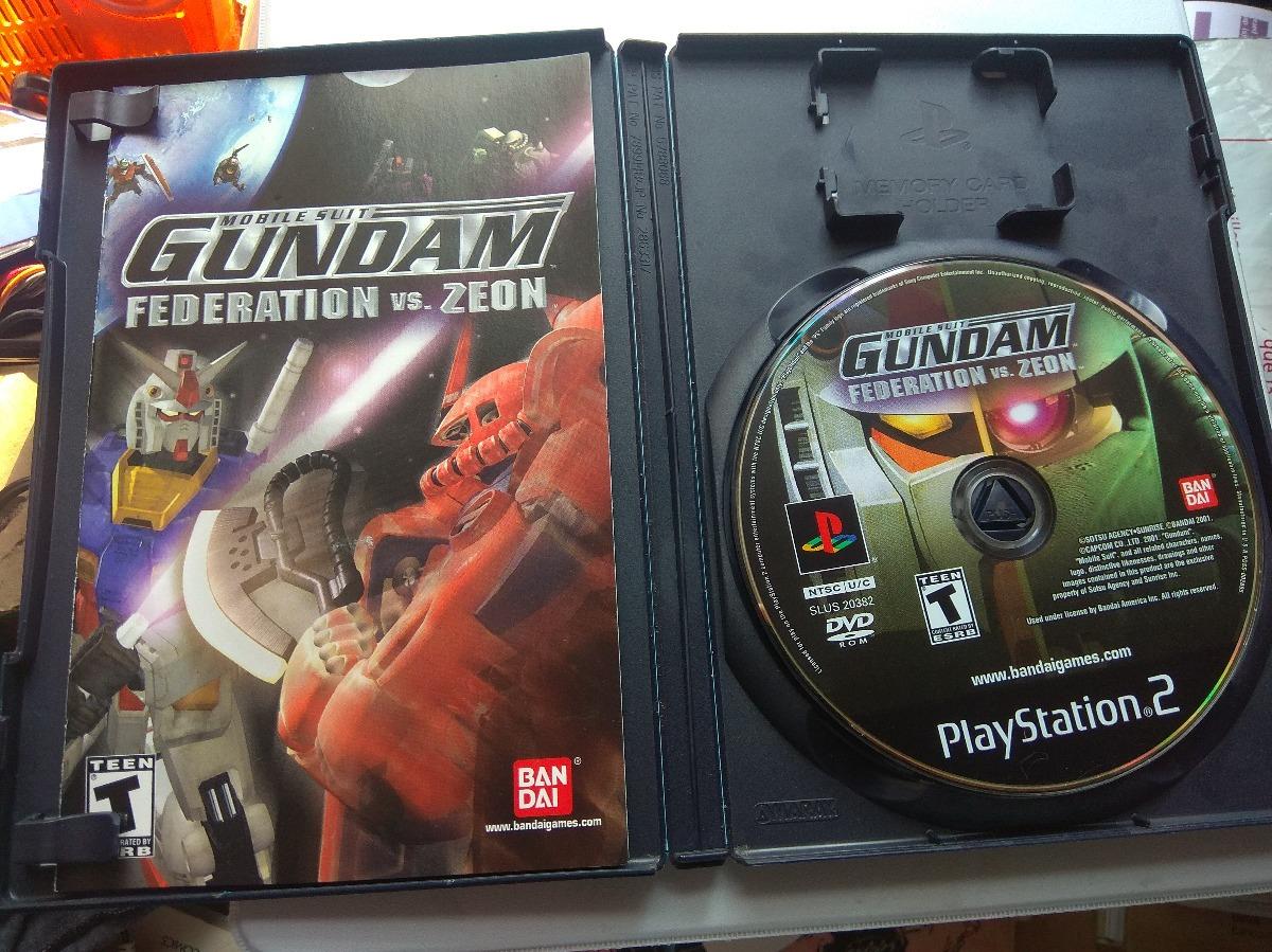 Mobile Suit Gundam Federation Vs Zeon Ps2 Playstation 2 - $ 500 00